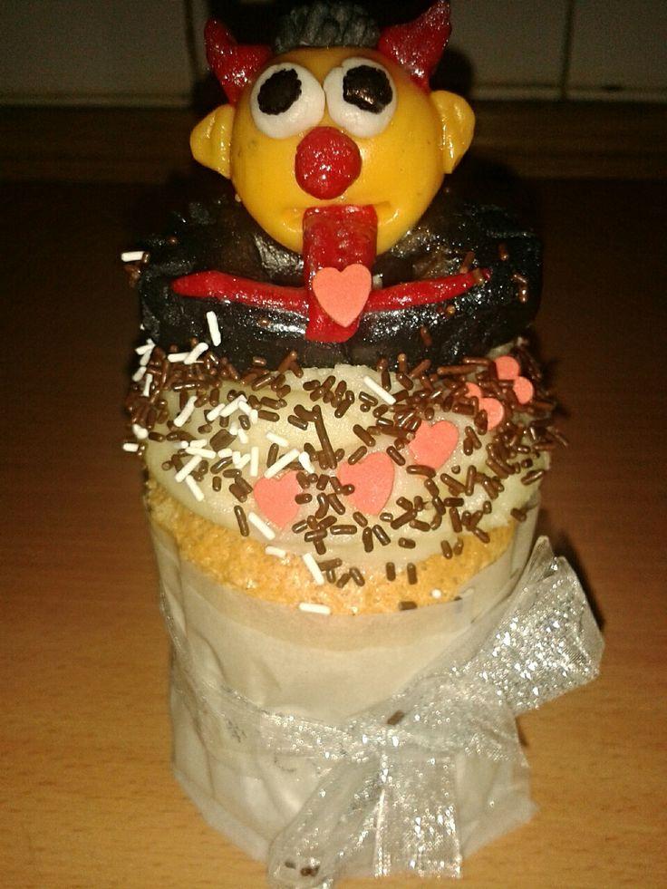 Muffin - čert/ Devil´s muffin
