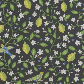 Rejuvenate your home with this Amalfi wallpaper from Sandberg Tyg