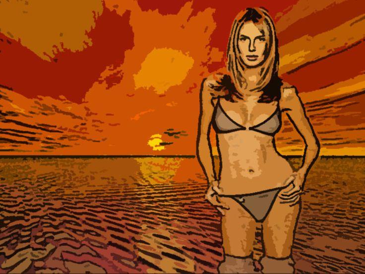 Акварельный рисунок из фото — Различные PSD, PNG, JPG файлы для фотошопа