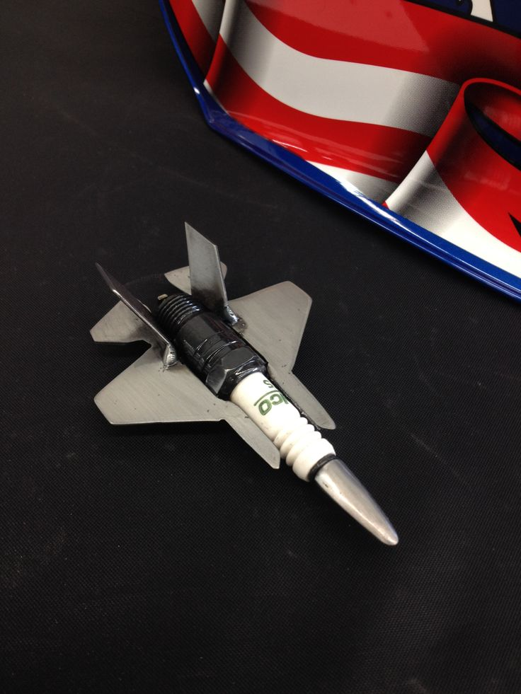 F35 spark plug art, car art, Made by Jonathan Maniaci Sounds of Speed Performance