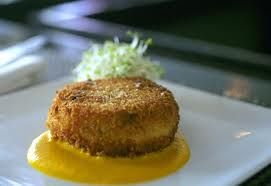 How about a crab cake Gran Cayman style? Can we have some to go???