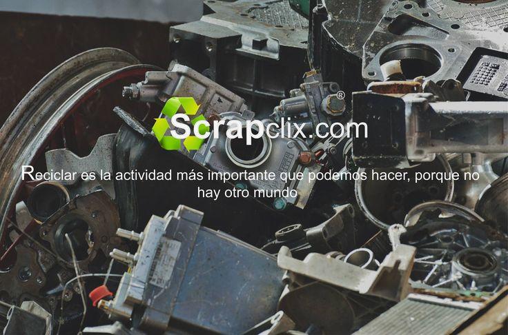ScripClix, Reciclar es la actividad más importante que podemos hacer, porque no hay otro mundo. Cuidemos Nuestro Medio Ambiente. www.scrapclix.com