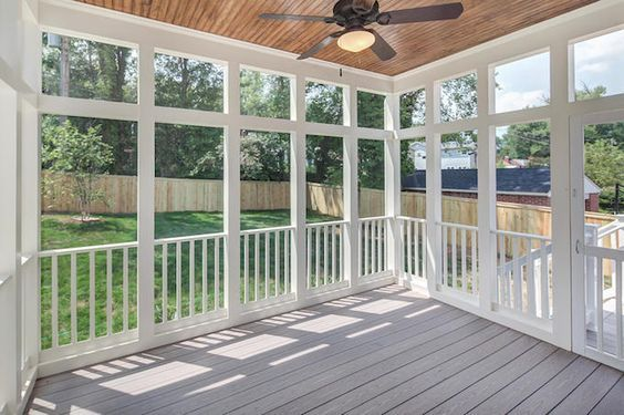 2016 Screened In Porch Cost | Screened In Porch Prices, Cost to Build: