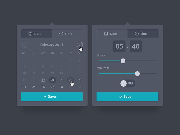 Due Date and Time Picker by Vitaliy Petrushenko