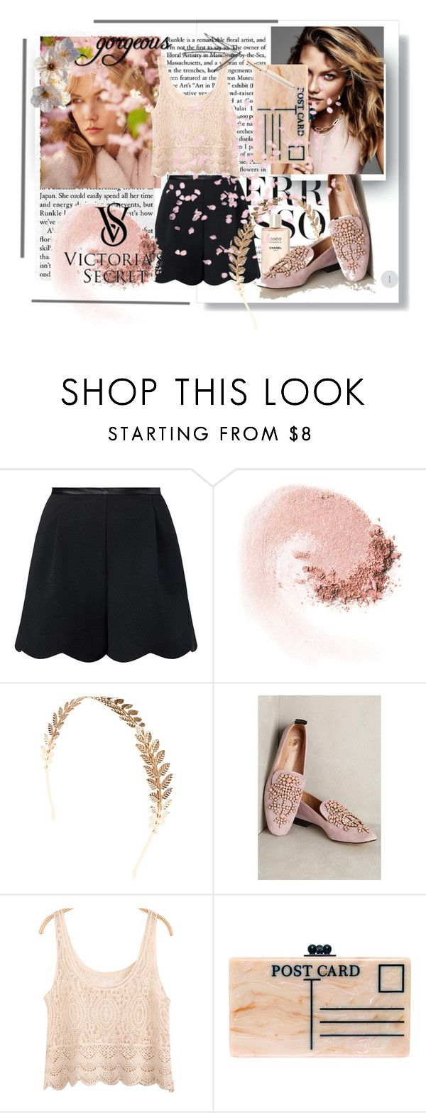 cherry blossom by hacii on Polyvore featuring moda, Malìparmi, Edie Parker, Wet Seal, NARS Cosmetics, Fountain, Victoria's Secret and karliekloss