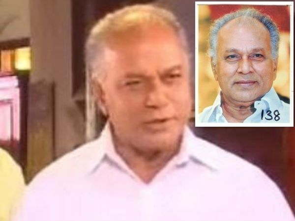 Veteran actor Peeli Sivam (80), who has acted in many Tamil movies and serials passed away yesterday due to health issues. #KollywoodNews www.chennaiungalkaiyil.com
