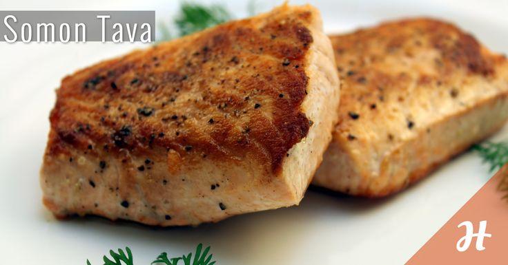 Somon Tava! Yapımı oldukça pratik. Detaylar balık bölümünde: http://www.hobiyo.com/kurslar/temel-mutfak-teknikleri-k1