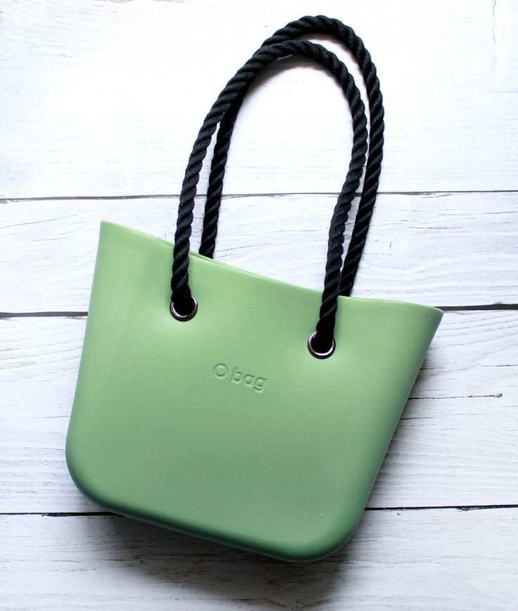 obag mini, o bag, Sage Green,  fullspot,  o bag szałwia mini
