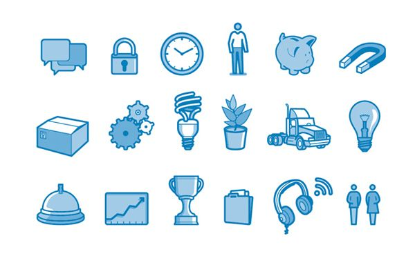 IBM icons on the Behance Network - via http://bit.ly/epinner