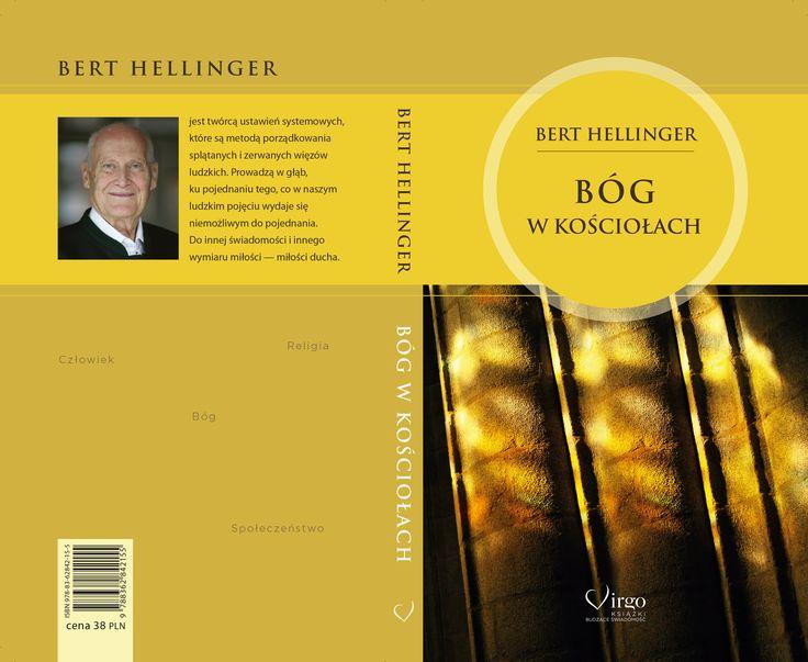 """Book Cover, Bert Hellinger, """"Bóg w Kościołach"""" wydawnictwo Virgo"""
