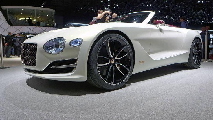 The Bentley EXP 12 Speed 6e concept at the Geneva motor show Photo 2
