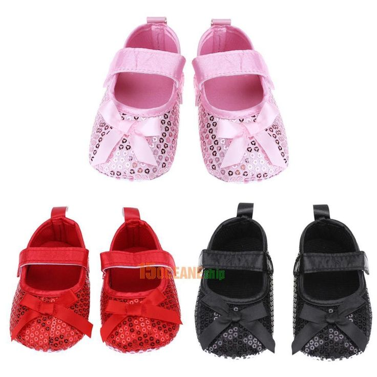 Vamp material: beads. Product type: sequin baby shoes. US size 1.0 = 0-6M = 11cm/4.33in sole length. US size 2.0 = 6-12m = 12cm/4.72in sole length. US size 3.0 = 12-18m = 13cm/5.12in sole length. Included: 1 X Pair of Shoes. | eBay!