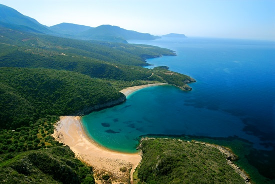 Finikounda beach is part of the town of Methoni in Greece. #Iridaresort www.iridaresort.com