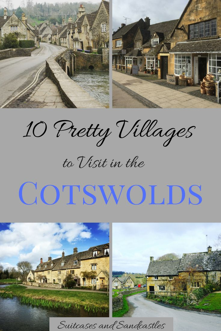 10 Pretty Villages to Visit in the Cotswolds. These villages are some of the prettiest in England. Here's our pick of the best from the most famous to the hidden gems where you can explore the beauty of the area without the crowds. #cotswolds #prettyvillagescotswolds #bestukvillages #familytraveluk #bestofuk