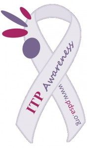 Immune Thrombocytopenia (ITP) – September is ITP Awareness Month  and September 26, 2014 is Sport Purple for Platelets Day.   Read more to find out about ITP.