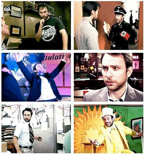 Charlie Kelly. King of the Rats