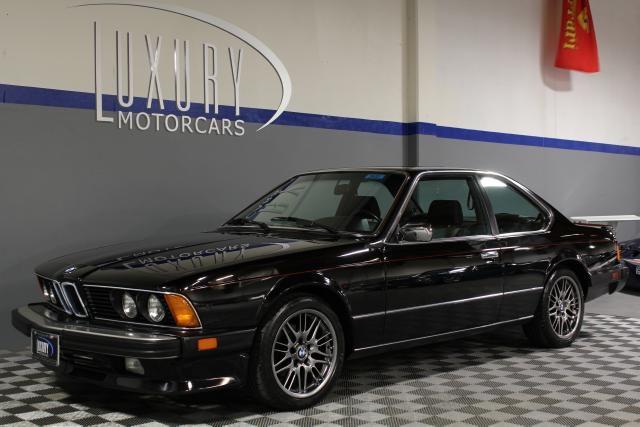7 995 1985 Bmw 6 Series Used Car Sacramento Ca Luxury
