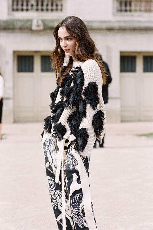 Vanessa Jackman: Paris Fashion Week AW 2015....Zuzanna....x
