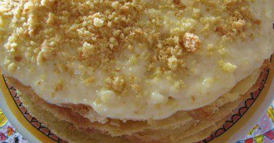 Jodetert – Jewish Custard Tart Recipe