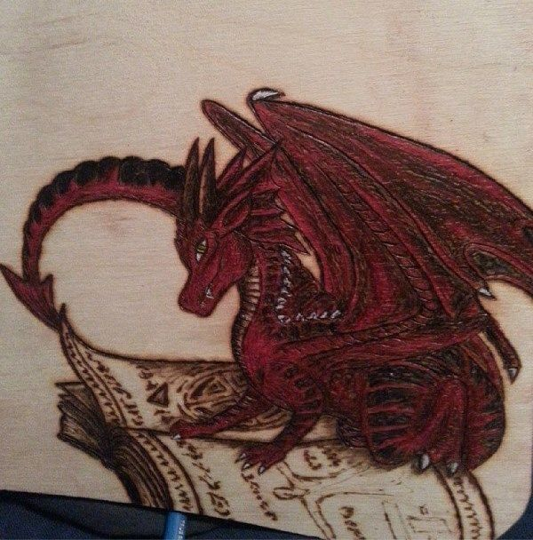 TOUCH this image: How to Make a Woodburned Piece of Art by Pam Atkinson