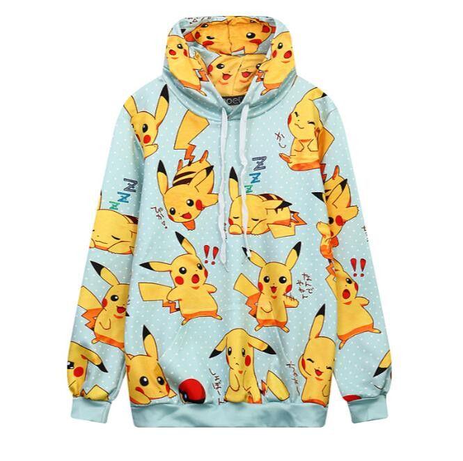 Pokémon cartoon hoodie pullover SE9332
