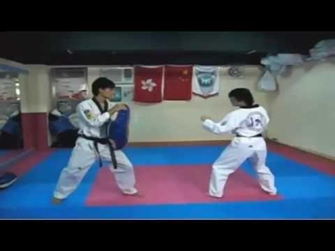 MACAM - MACAM SENI BELA DIRI: Video: Teknik Tendangan Taekwondo