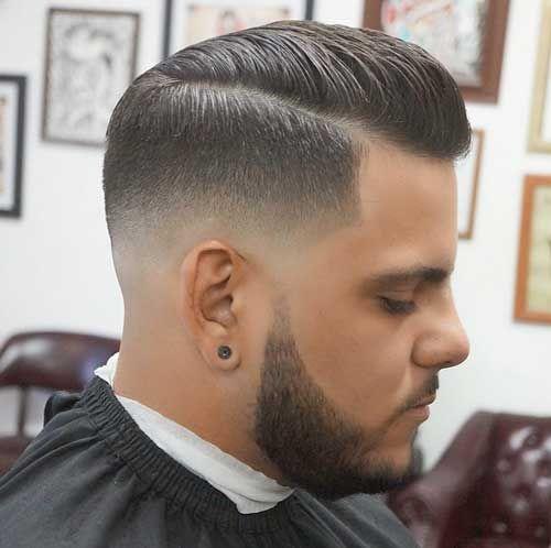 Corte de cabello para hombre low fade