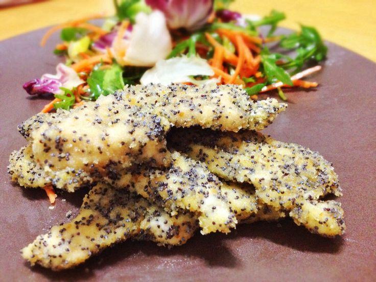 Straccetti di pollo impanati al forno -SECONDI DI CARNE - POLLO