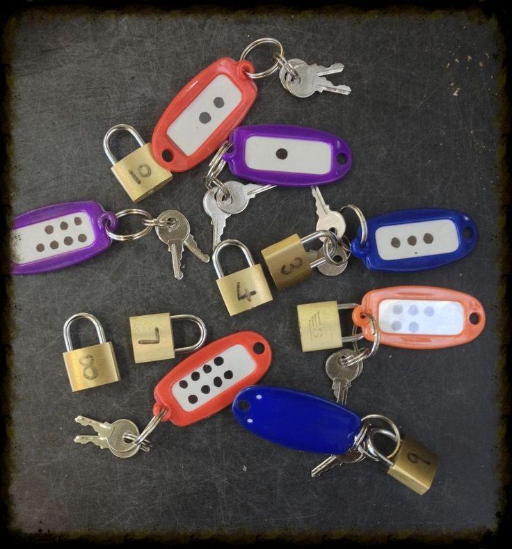 fine motor locks and keys