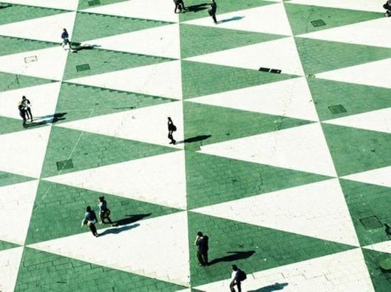 Triangles (image by Tiziana Tosoni)