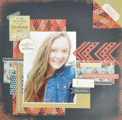 This lovely layout by the KaiserCraft design team used the Blubelle collection!