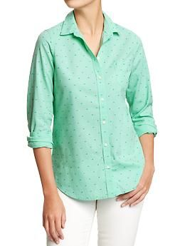 $15. Women's Oxford Shirts | Old Navy. $11 if you buy today, 4/12