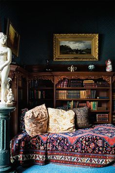 luxe home library