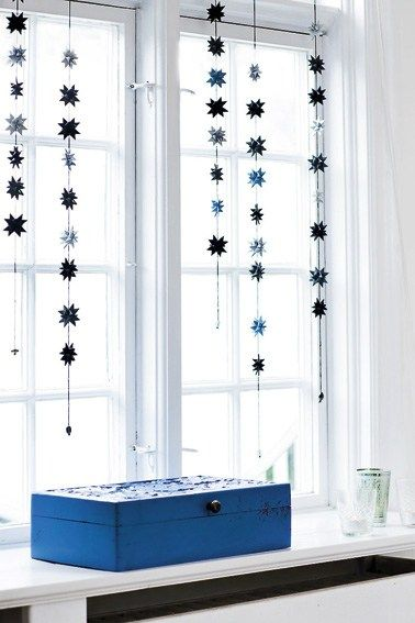 Noël en bleu et blanc au Danemark | PLANETE DECO a homes world