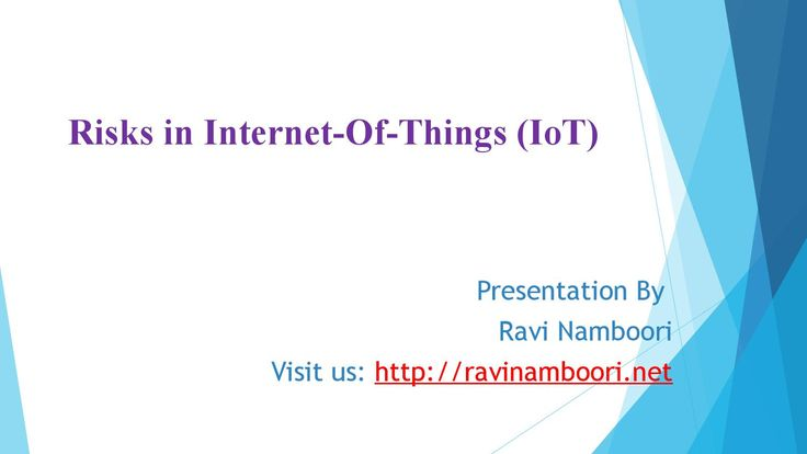 Iot Risks & Benefits by Ravi Namboori Cisco Evangelist  Here Ravi Namboori discussed about IoT Risks, Where this IoT technology raised few questions like who will be controlling background data & over-dependence on technology & where is the guarantee on safety and etc.