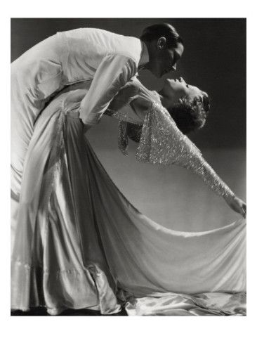 Dance team Jack Holland and June Hart. In the 1930's, Holland and Hart appeared in clubs around Manhattan as well as in the films 'Dance Band' and 'Rubinoff and His Violin'. Photo by Horst P. Horst, Condé-Nast Archive.