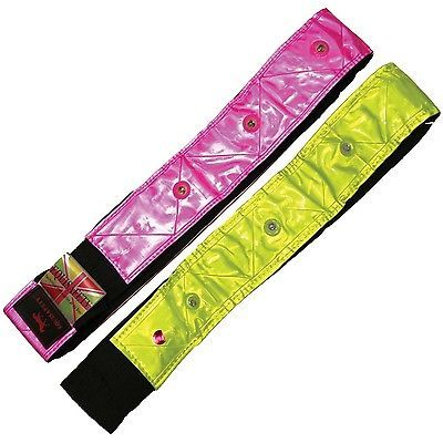 Equi#safety horse rider led #flashing #hatband fluorescent hi viz #safety,  View more on the LINK: http://www.zeppy.io/product/gb/2/271132340803/
