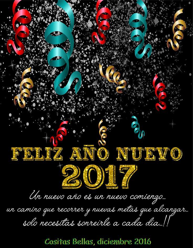 Para todas nuestras amigas y nuestros amigos, feliz año 2017. Cositas Bellas #cositasbellasvalpo