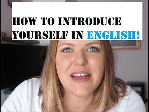 Making friends | Introducing Yourself in English  ❤Ladies Learn English❤