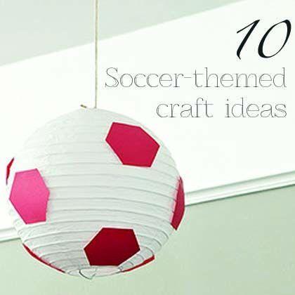 10 Soccer-Themed Craft Ideas