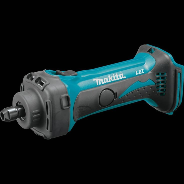 """toolsbydesignNew Tool Alert - Makita 18v LXT Cordless 1/4"""" Compact Die Grinder. Add the 1/8"""" optional collet and you have a Dremel on steroids. Looks like a useful tool for those tight spots. 25,000 RPMs - Makita-built 4-pole motor Short neck design is only 12-1/8"""" long with battery (not included)"""