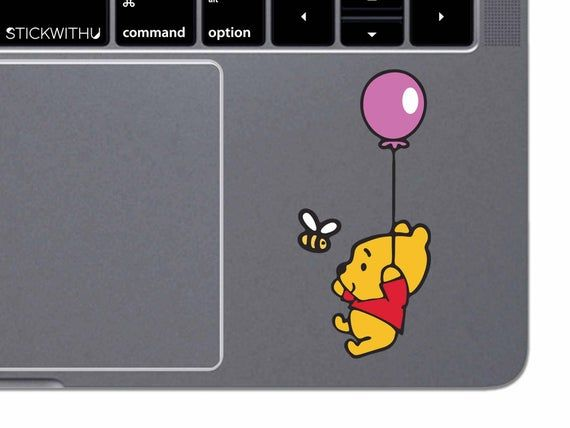 MacBook Decal Disney Pooh MacBook Sticker Winnie The Pooh MacBook Air MacBook Pro Retina Trackpad Vi