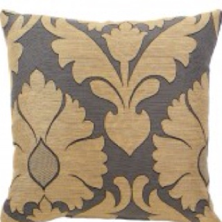 Gold and Grey pillow 20x20 Home Pinterest