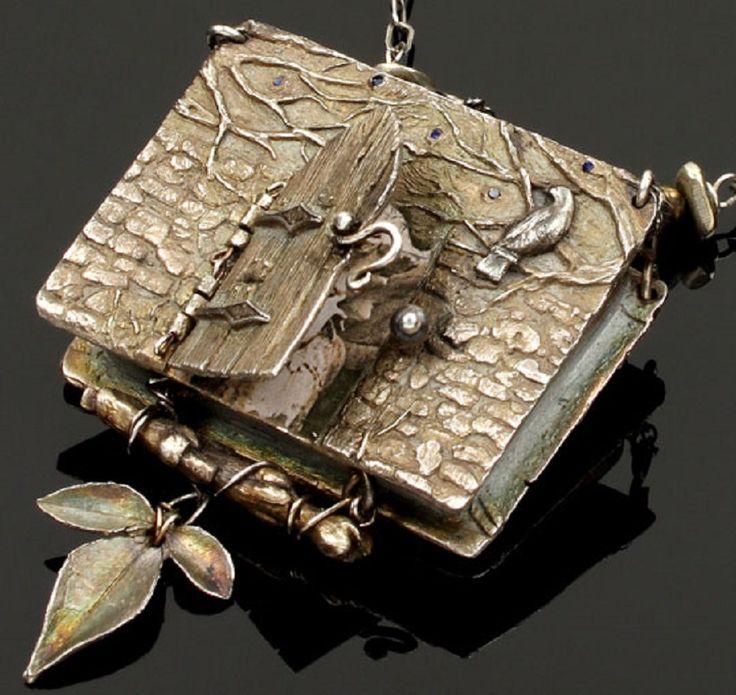 148 best the art of metal clay images on pinterest for Hallmark fairy door