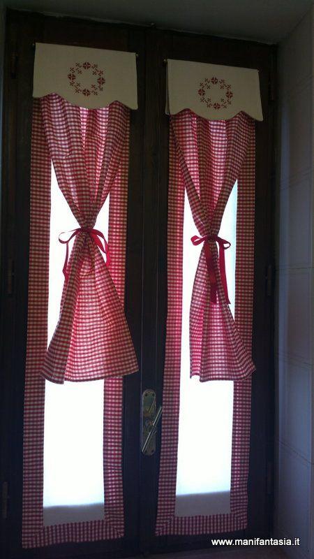 Oltre 25 fantastiche idee su tende per finestra su - Tendine da finestra cucina ...