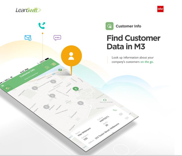 """Check out this @Behance project: """"Interactive Map -  Find Customer Data in InforM3"""" https://www.behance.net/gallery/46647407/Interactive-Map-Find-Customer-Data-in-InforM3"""