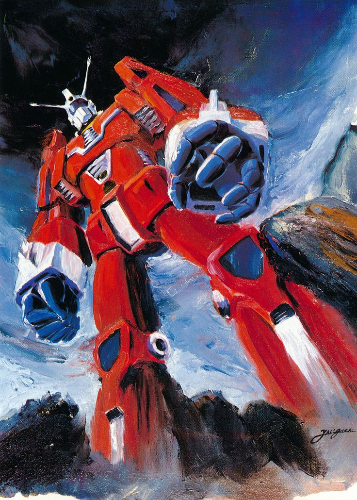 MECHA GUY: Space Runaway IDEON - Classic Artwork Images