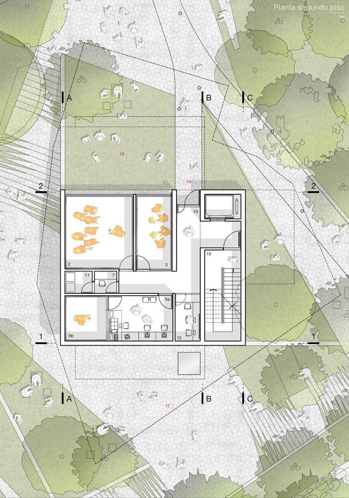 Galería de Conoce el primer lugar del nuevo edificio de prácticas musicales de la Universidad de Los Andes, Colombia - 9