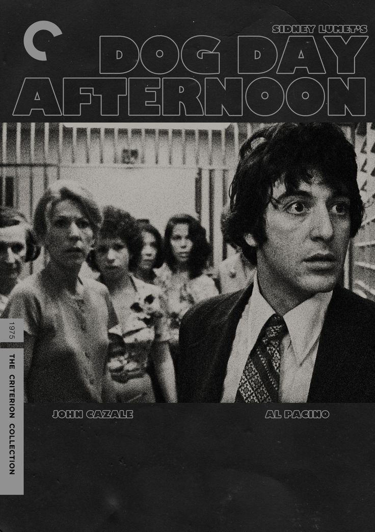 "midmarauder:    Criterion Cover for Sidney Lumet's ""Dog Day Afternoon"""