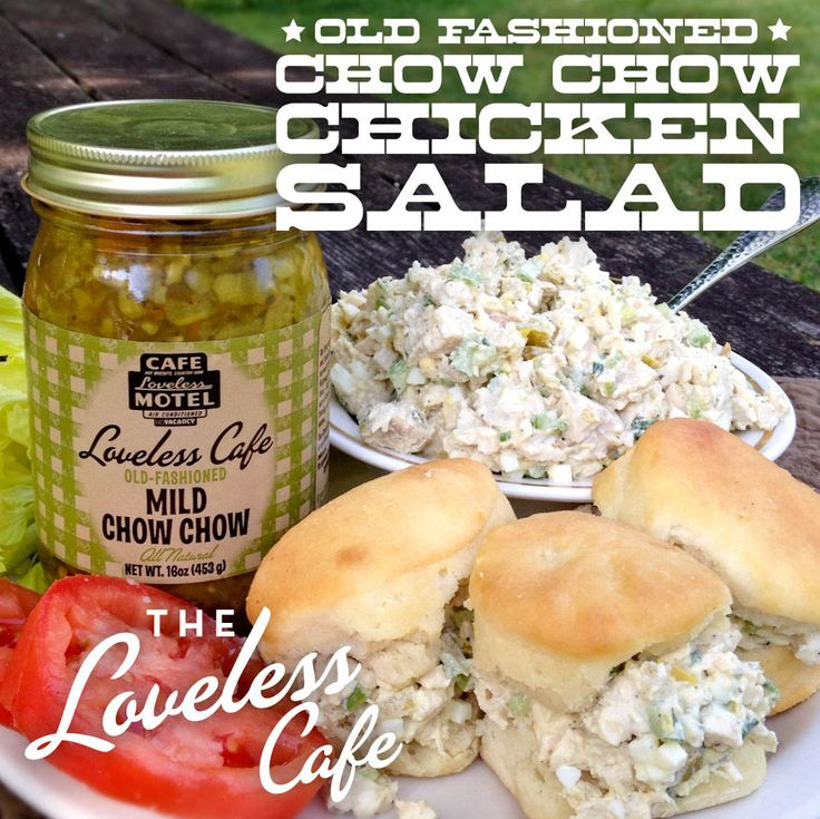 Old Fashioned Chicken Salad - made with Chow Chow relish!